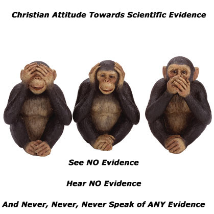 : See no Evidence, Hear no Evidence, and never speak of Evidence